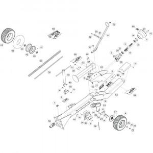 03 Trekstang 2 passend voor KUHN GF13002