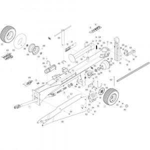 05 Trekstang 4 passend voor KUHN GF13002