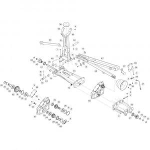 23 Tussenwing 1, links 3 passend voor KUHN GF13002