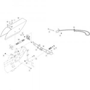 04 Aandrijving passend voor KUHN GF13012