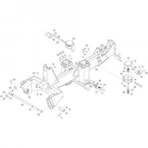 05 Verbindingsframe, achter passend voor KUHN GF13012