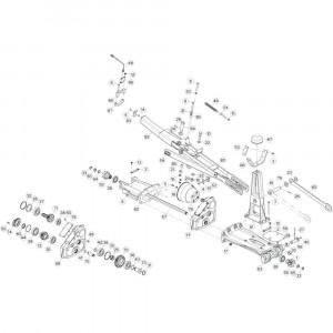11 Tussenwing 1, rechts passend voor KUHN GF13012