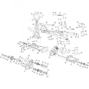 12 Tussenwing 1, links passend voor KUHN GF13012
