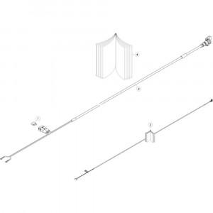 39 Kabelboomsteun 30A passend voor KUHN GF13012