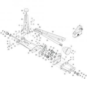 11 Tussenwing 1, links passend voor KUHN GF17002