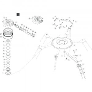 30 Rotor passend voor KUHN GF17002
