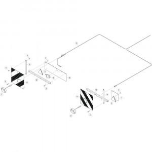 36 Besturingsboxsteun passend voor KUHN GF17002