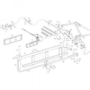 40 Deflectorset passend voor KUHN GF17002
