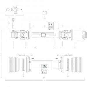 42 Transmissie 2 passend voor KUHN GF17002
