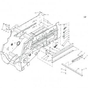 003 Hoofdframe passend voor DEUTZ-FAHR BigMaster 5712