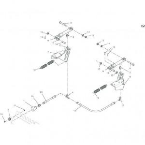 009 Pneumatische rem passend voor DEUTZ-FAHR BigMaster 5712