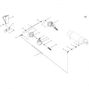 011 Pneumatische rem passend voor DEUTZ-FAHR BigMaster 5712