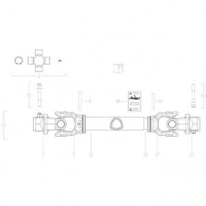 021 Transmissie 4500826 passend voor DEUTZ-FAHR BigMaster 5712