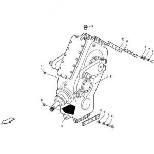 024 Aandrijving passend voor DEUTZ-FAHR BigMaster 5712