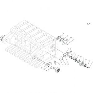 027 Geleiding passend voor DEUTZ-FAHR BigMaster 5712