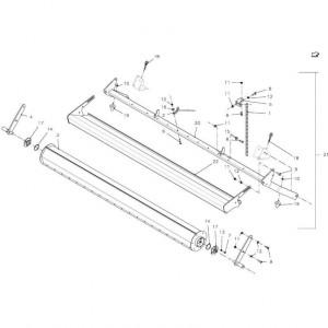 028 Gewasgeleider passend voor DEUTZ-FAHR BigMaster 5712