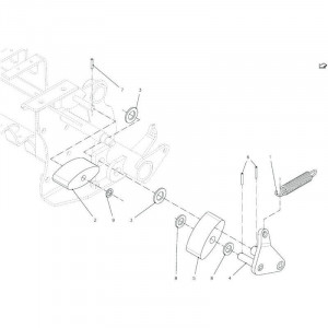 030 Kettingspanner 23OC+23OC-SS passend für DEUTZ-FAHR BigMaster 5712