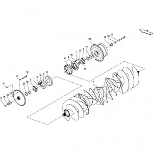 033 Rotor passend voor DEUTZ-FAHR BigMaster 5712