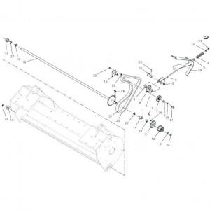 035 Aandrijving rotor passend voor DEUTZ-FAHR BigMaster 5712