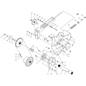 036 Riemspanner 96 inch passend voor DEUTZ-FAHR BigMaster 5712