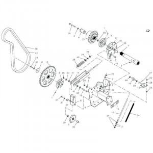 041 Kettingspanner 23-OC passend für DEUTZ-FAHR BigMaster 5712