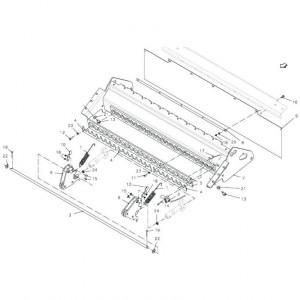 042 Frame 23-OC blad passend für DEUTZ-FAHR BigMaster 5712