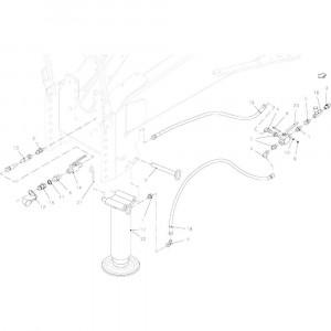 002 Parkeerstandaard hydraulisch passend voor DEUTZ-FAHR BigMaster 5712