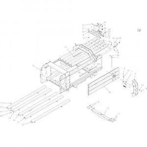 004 Drukkanaal passend voor DEUTZ-FAHR BigMaster 5712