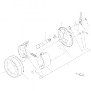 008 As passend voor DEUTZ-FAHR BigMaster 5712
