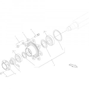 009 As passend voor DEUTZ-FAHR BigMaster 5712