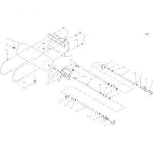 012 Pneumatisch blok passend voor DEUTZ-FAHR BigMaster 5712