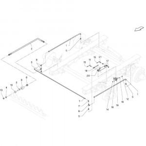 020 Remmen tandem passend voor DEUTZ-FAHR BigMaster 5712