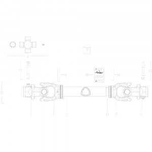 023 Transmissie 4500826 passend voor DEUTZ-FAHR BigMaster 5712