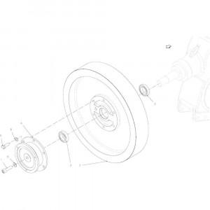 024 Vliegwiel passend voor DEUTZ-FAHR BigMaster 5712