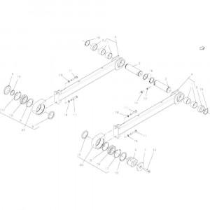 027 Plunjer, aandrijving passend voor DEUTZ-FAHR BigMaster 5712