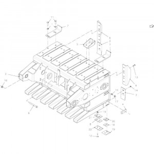028 Plunjer passend voor DEUTZ-FAHR BigMaster 5712