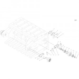 029 Geleiding passend voor DEUTZ-FAHR BigMaster 5712