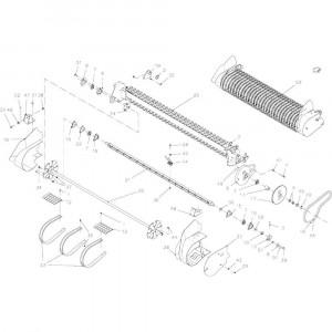 031 Opraper Xl-R-Oc-23 passend voor DEUTZ-FAHR BigMaster 5712
