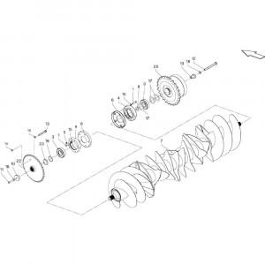 035 Rotor passend voor DEUTZ-FAHR BigMaster 5712