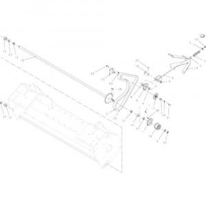 037 Aandrijving rotor passend voor DEUTZ-FAHR BigMaster 5712