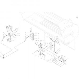 041 Opraper stuurinrichting passend voor DEUTZ-FAHR BigMaster 5712