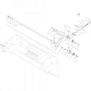 042 Aandrijving rotor passend voor DEUTZ-FAHR BigMaster 5712