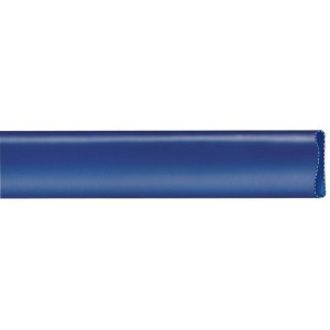 PVC persslang plat oprolbaar blauw | Verpompen van water