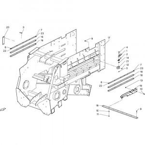 002 Hoofdframe passend voor DEUTZ-FAHR GP 120