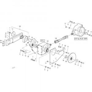 004 Zwengel passend voor DEUTZ-FAHR GP 120