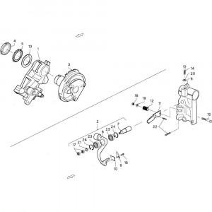 007 Hefboom passend voor DEUTZ-FAHR GP 120