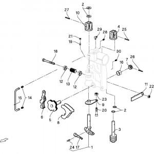 008 Remmen passend voor DEUTZ-FAHR GP 120