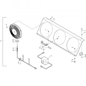 014 Ventilator passend voor DEUTZ-FAHR GP 120