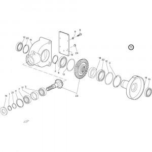 016 Behuizing passend voor DEUTZ-FAHR GP 120