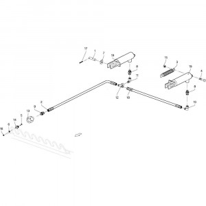 021 Remmen passend voor DEUTZ-FAHR GP 120